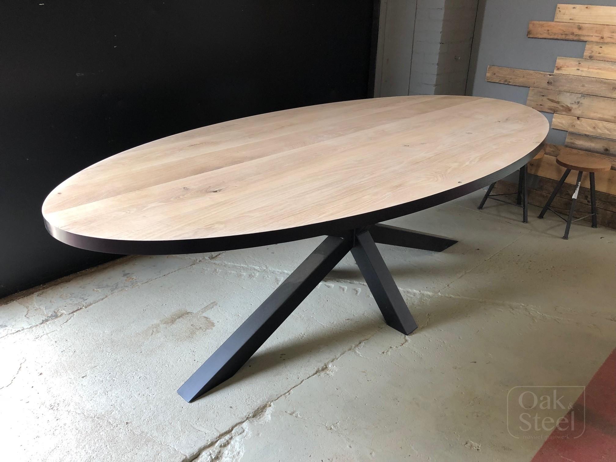 Ovaal tafel