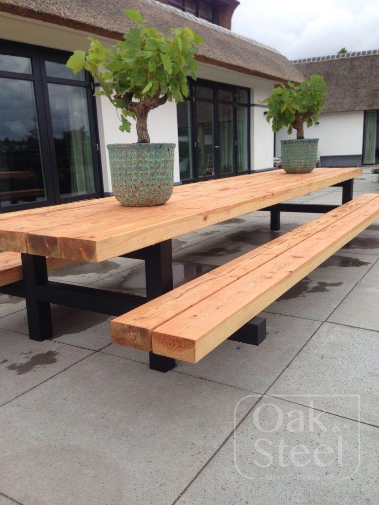Picknicktafel van 5 meter